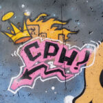 Acronym for Copenhagen on a wall